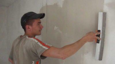 как зашпаклевать потолок из гипсокартона