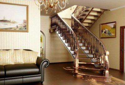 как делают лестницы в частных домах