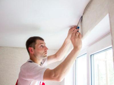 как снять натяжной потолок своими руками