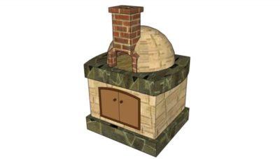 как сложить печь для бани