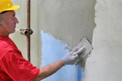 как правильно штукатурить стену цементным раствором