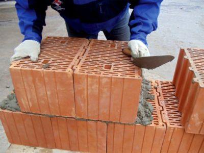 кладка шлакоблока как самому построить дом