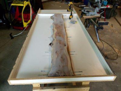 как сделать столешницу из бетона