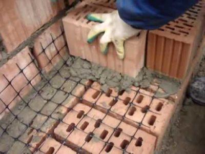 армирование кирпичной кладки через сколько рядов