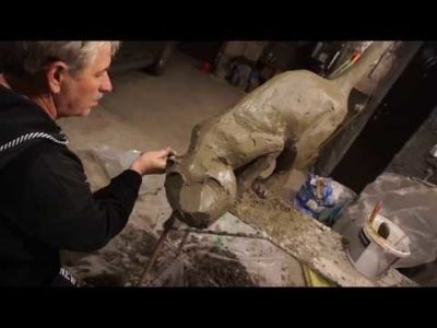 как сделать скульптуру из бетона