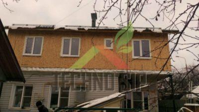 как надстроить второй этаж на старый дом