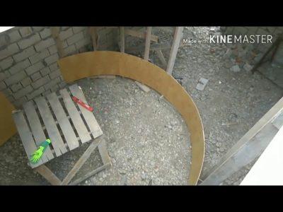 как сделать круглую опалубку
