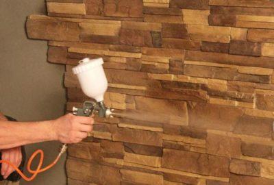 как класть гипсовую плитку на стену
