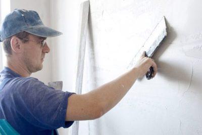 как шпаклевать бетонные стены