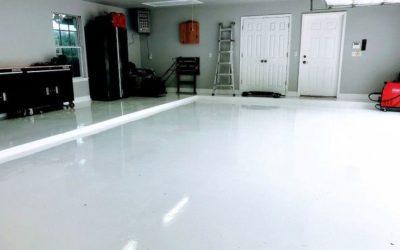 как правильно залить пол в гараже