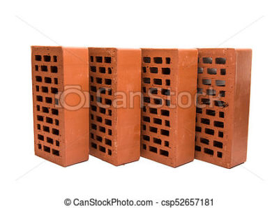 сколько красного кирпича в кубе