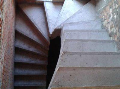 как сделать ступеньки из бетона