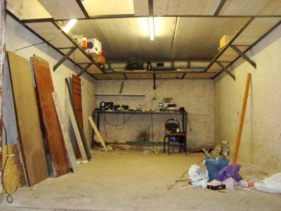 как утеплить кирпичный гараж