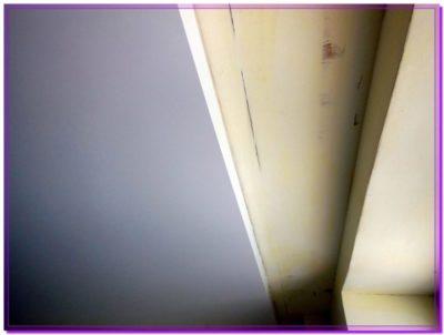 как сделать нишу в натяжном потолке