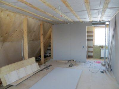 как обшить стены гипсокартоном в деревянном доме