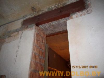 как сделать проем в бетонной стене